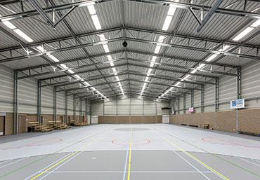 PRO-series_sporthallen_Frisomat_staalbouw