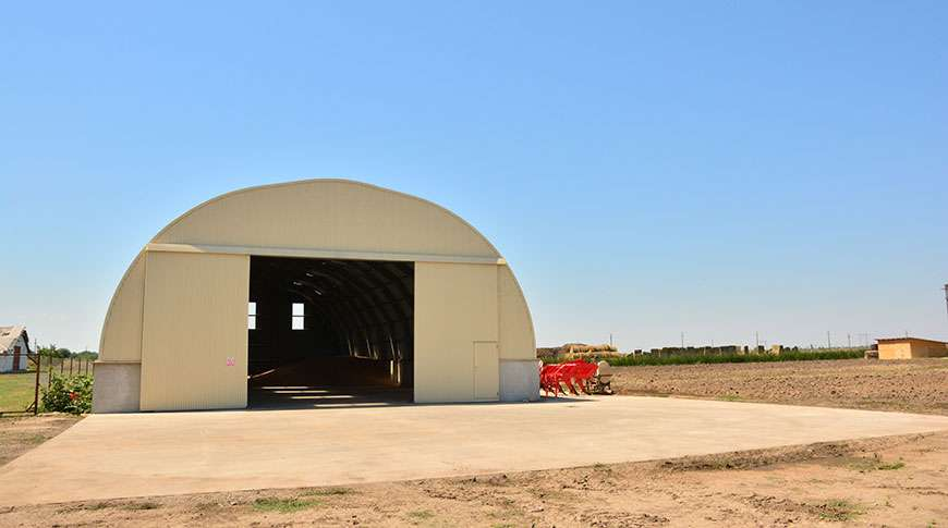 grain warehouse storage building farming agri