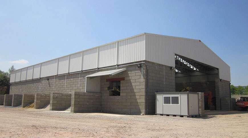 Commercial Steel Buildings And Block : Bulk storage industrial buildings frisomat