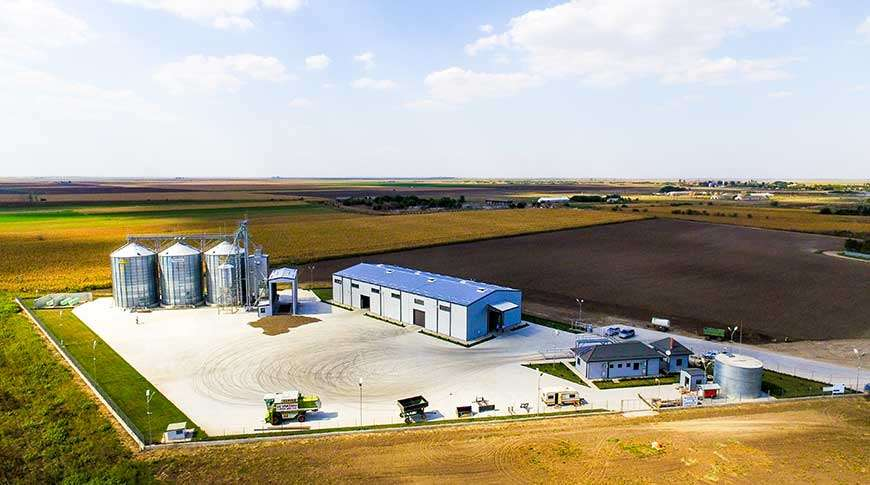 bulk storage industrial buildings PESB grain
