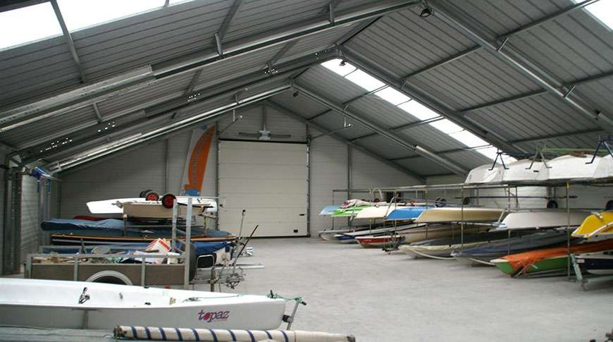 storage buildings sports hall PESB prefab steel