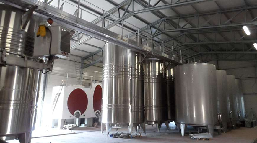 winery steel buildings hall prefabricated prefab