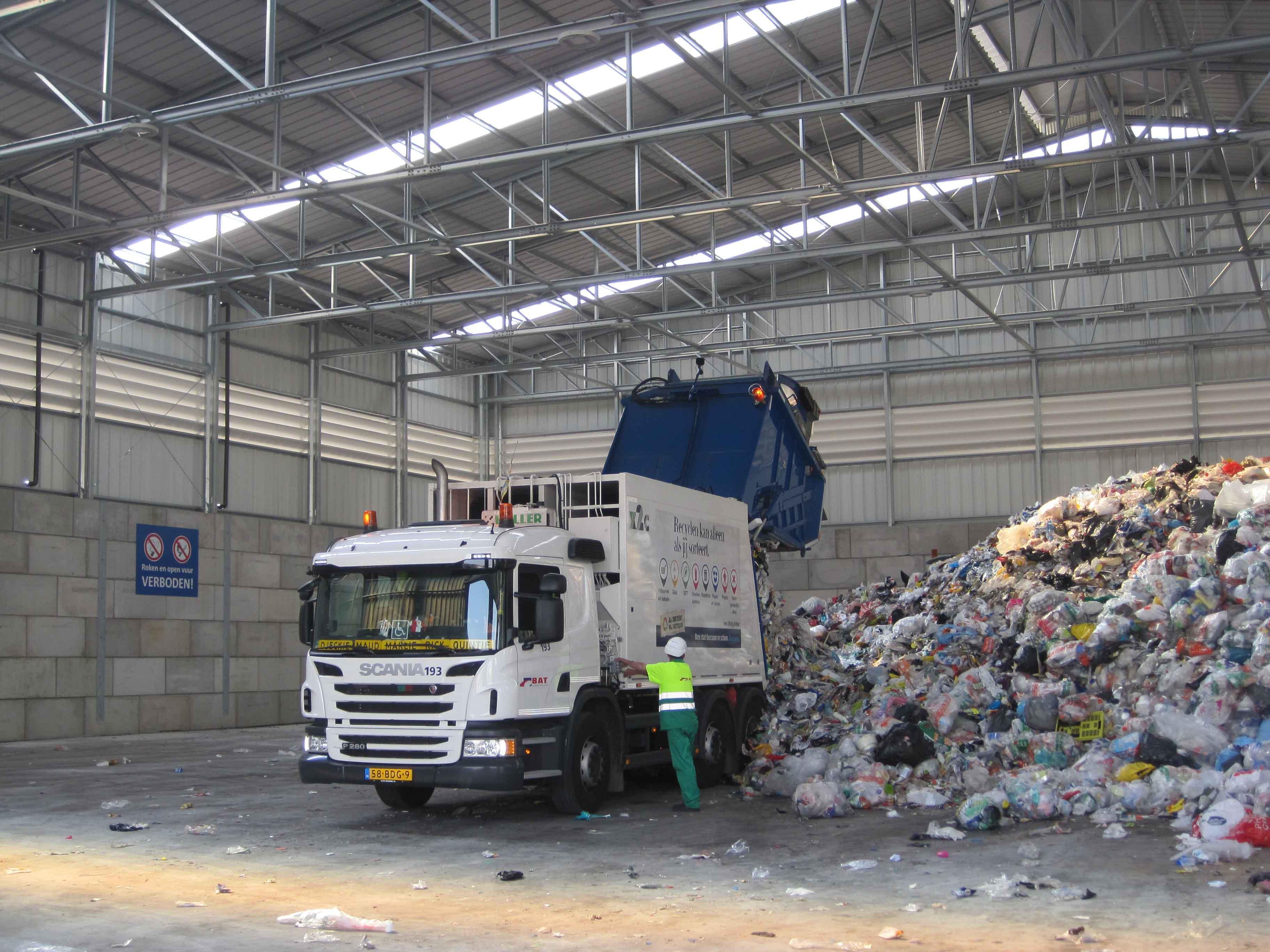 recyclagecentra opslag verwerking