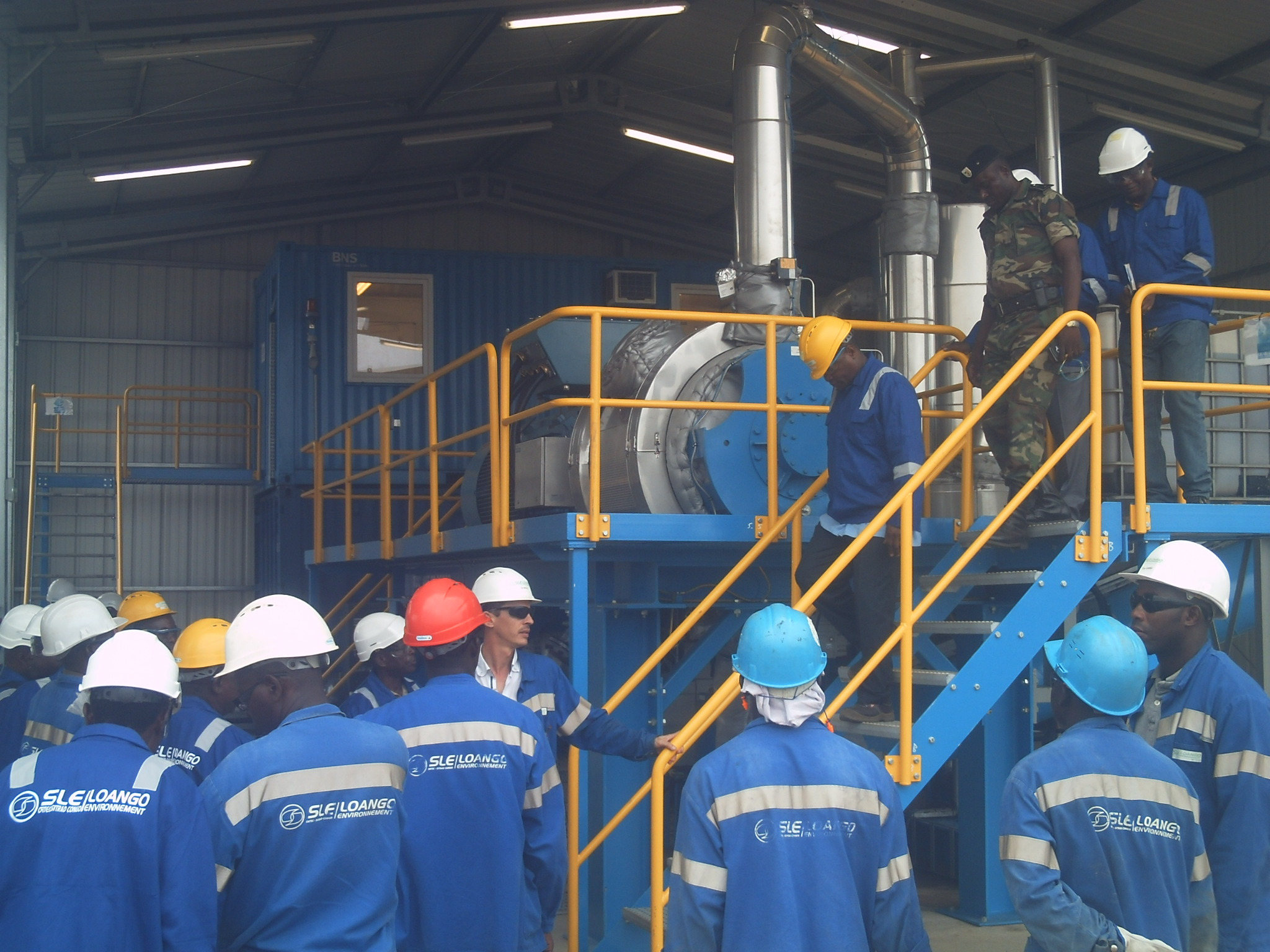 recyclagecentra-opslaghal-industriebouw-congo